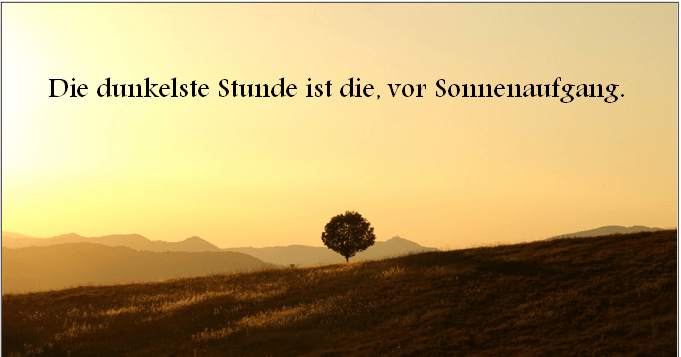Motivation am Montag - #4